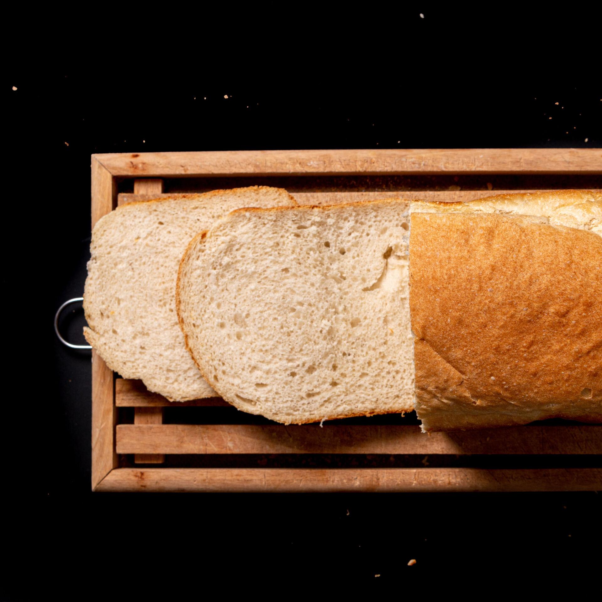 Wit fijngebak busbrood